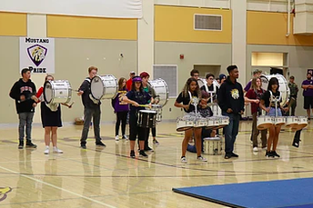 Percussion Starts the Year with a Bang