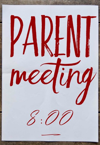 Parent Meeting THIS Wednesday