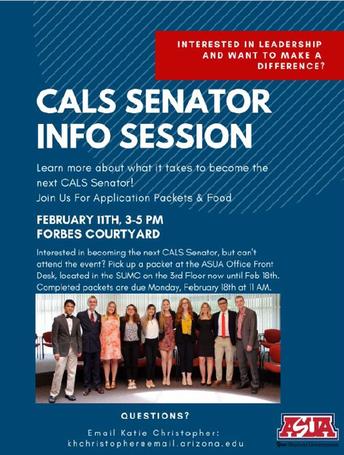 CALS Senator Info Session