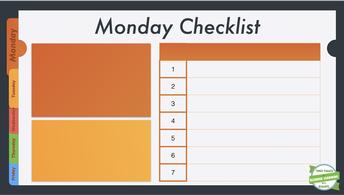 Checklist, Checklist, Checklist
