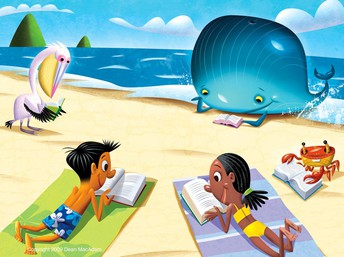 SHARE A LOVE OF READING & WRITING THIS SUMMER