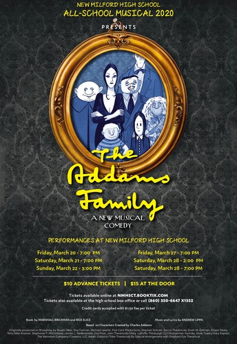 "The NMHS All-School Musical Presents... ""The Addams Family"""
