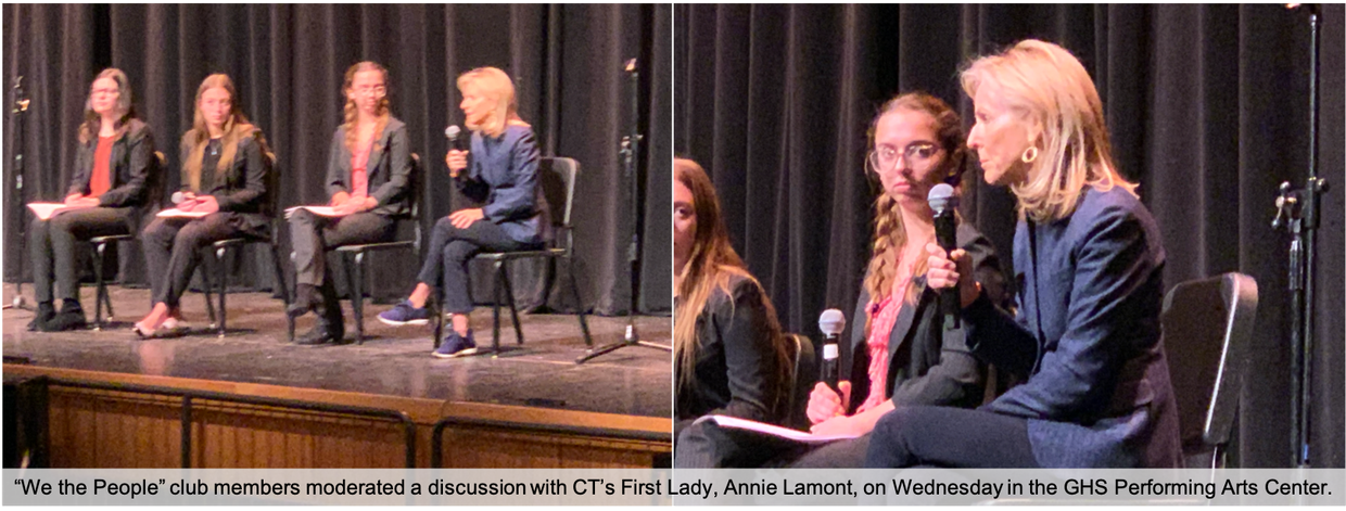 Annie Lamont participated in a moderated panel at GHS