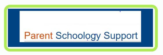 Parent Schoology Support