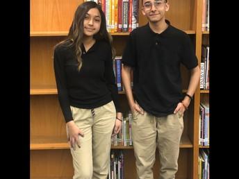 Mya Garza and Jayden Rios