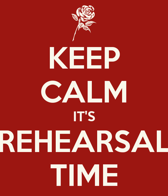 Upcoming after school rehearsals for Varsity