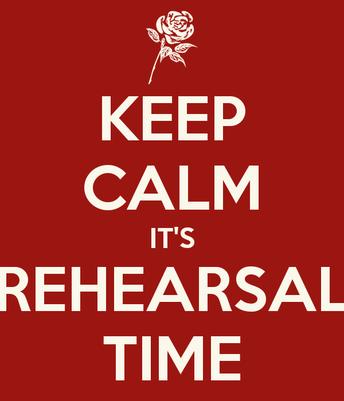 Varsity after school rehearsals begin NEXT WEEK.