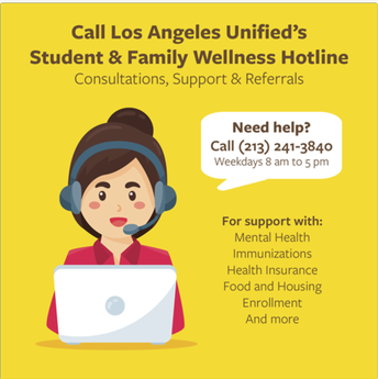 Student and Family Hotline