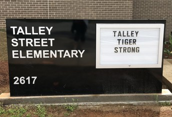 Talley Street Upper Elementary School's Social Media and Contact Information