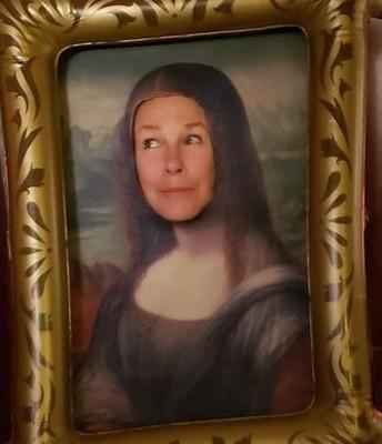 Rasheeda Attun's Mona Lisa