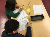 Drawing maps of our classroom