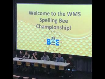 WMS Spelling Bee Finalists