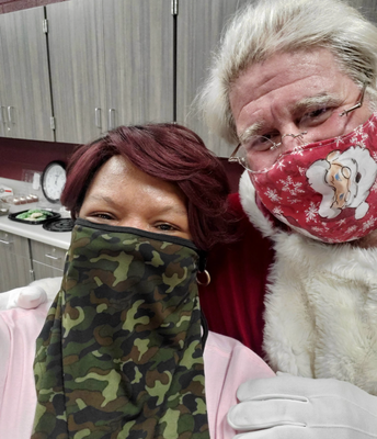 Ms. Gardener LOVES Santa