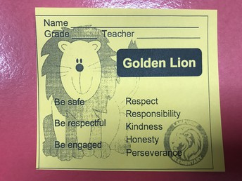 Golden Lion ticket
