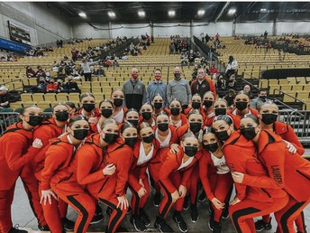 SFHS Las Chalitas Drill Team Takes 3rd in State Competition