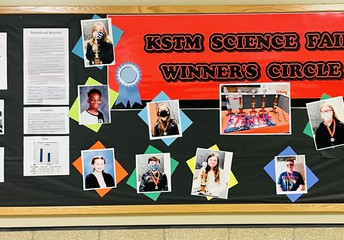 Proud of our science fair winners!