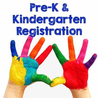 Enroll Your Pre-K and Kindergarten Student