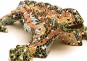 A Gaudi Lizard