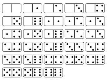 Free Printable Domino cards and Parking Lot game