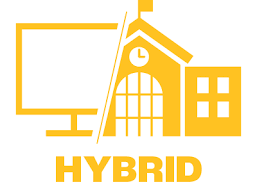 First Day of Hybrid Learning