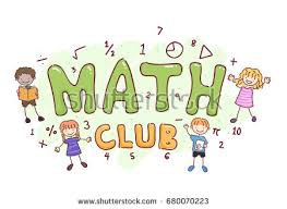 Math Club is Cancelled for Thursday April 18th