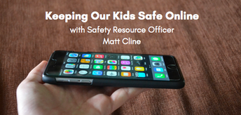 October PTC Meeting, THIS MONDAY, 10/22, to feature Safety Resource Officer Matt Cline