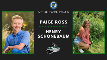 FHS student leaders Schonebaum, Ross nominated for ExCEL Award