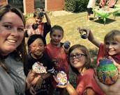 4th Grade Dot Day Selfie!