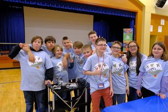 JJHS 7 & 8 Lego Team