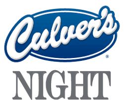 PTO Culver's Night: November 10th