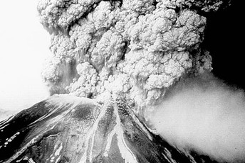 This is Mount Pelee when it erupted in 1902 on thursday the 8th at 8:10