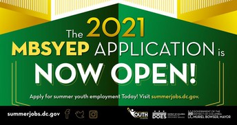 Marion Barry Summer Youth Employment Program Application