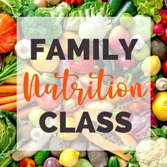 Family Nutrition Classes