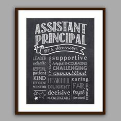 Honoring Our Amazing Assistant Principals
