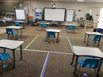 Primary classroom example