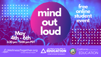 May 4-May 6: Mind Out Loud Virtual Event