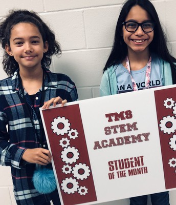 Our STEM Ambassadors for the first Nine Weeks!