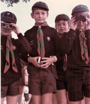 Dr. Guy Wilson, BOE Member (school-age photo - cub scouts)