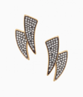 Pave Horn Ear Jackets