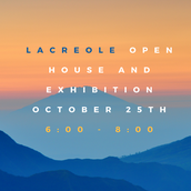 Open House and Exhibition Night -- Tuesday, October 25, 6-8 p.m.