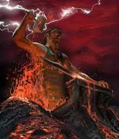 Vulcano, deus do fogo