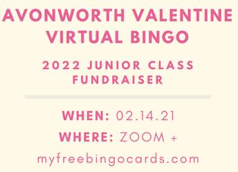 Virtual Valentine Bingo