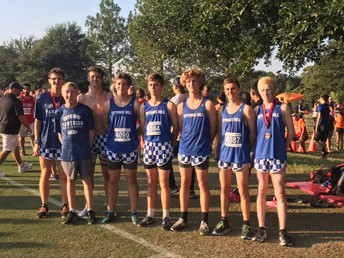 XC Team Finishes 8th