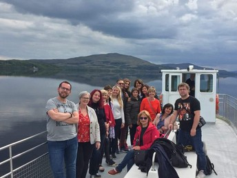 Boat trip on Lough Gill