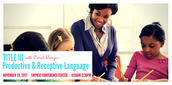 Productive & Receptive Language