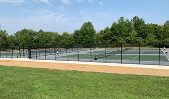 NEW SHS TENNIS COURTS