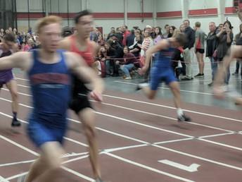 Cameron Vincent breaks indoor 60m dash record