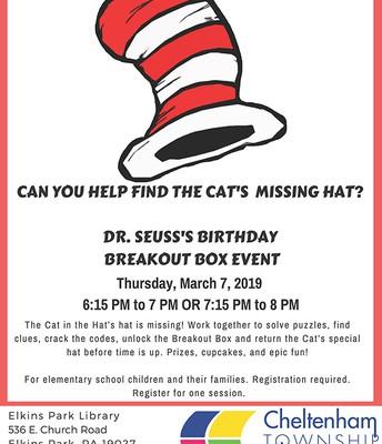 Dr. Seuss Celebration @ EP Public Library