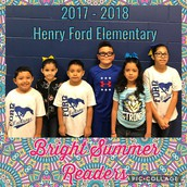 Bright Summer Readers Winners