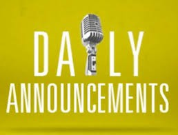 North Stars Daily Announcements